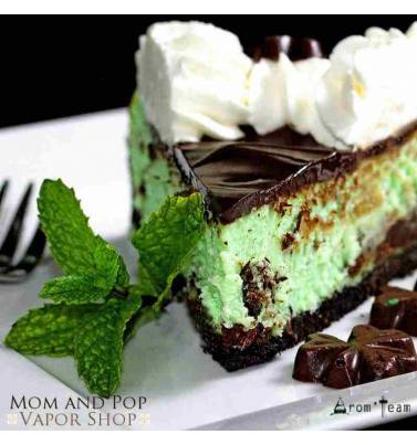 A delicious chocolate mint flavor