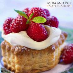 A surprising delicious raspberry tart !