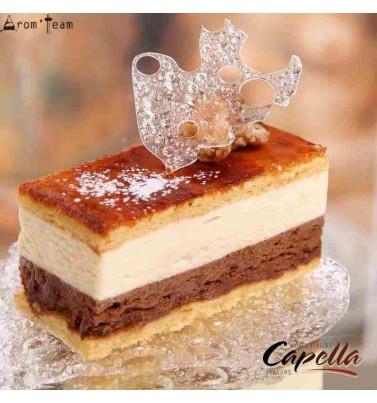 L'arôme d'un gâteau café cannelle