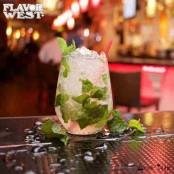 lemon and mint with a hint of rum, this is diy mojito