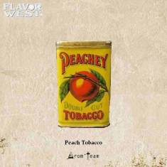 A juicy peach with a hint of light tobacco