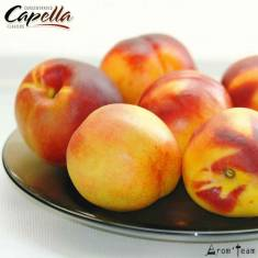 A sweet, juicy and natural peach