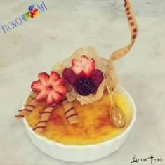 The delight of creme brulee