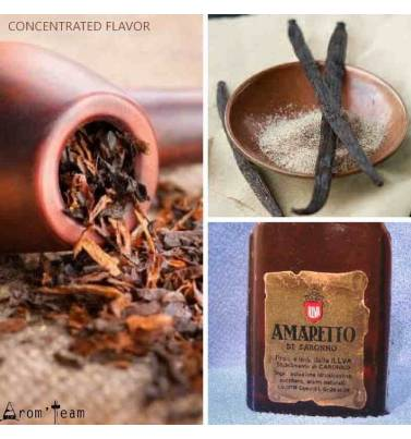 A pipe tobacco with amaretto and vanilla