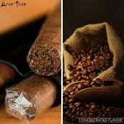 A rich cigar flavor with a hint of coffee