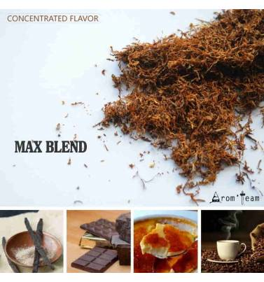 A cigar tobacco flavor with light chocolate