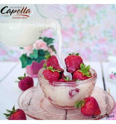 Strawberry cream Capella flavor