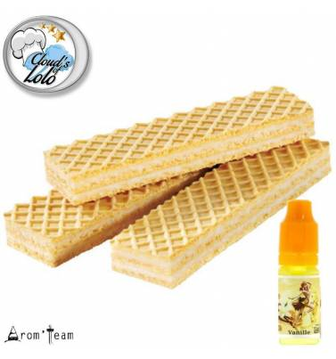 Vanilla Wafer e liquid recipe - Gaufrette Vanille Cloud's of Lolo