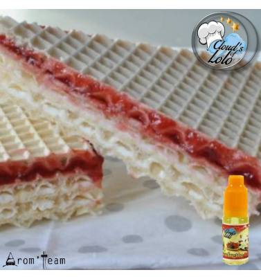 Strawberry wafer e liquid recipe - Gaufrette Mûre Fraise Cloud's of Lolo