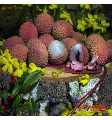 Exotic and natural lychee