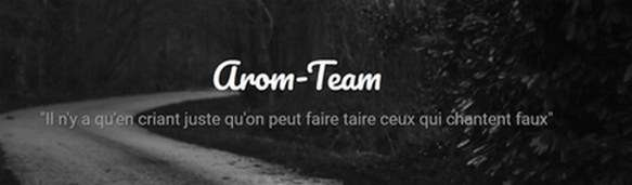 Le blog d'Arom-Team