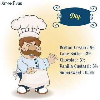 boston cream e juice recipe