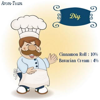 flavor west cinnamon roll e liquid recipe