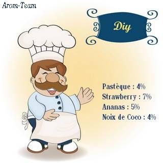recette e liquide pasteque