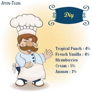 tropical punch e liquid recipe