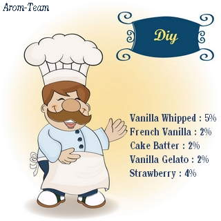 vanilla whipped cream e juice recipe