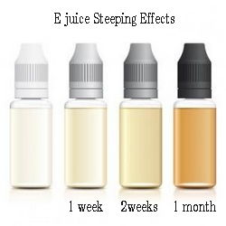 e liquid steeping effect