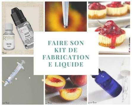 Kit de fabrication e liquide